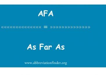 As far as là gì? Ví dụ và cách sử dụng cụm từ As far as